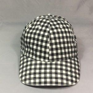 Black & White Checkered Cap